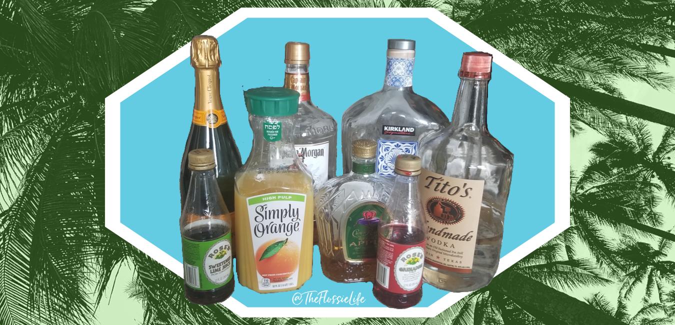 Social Distancing with Florida Inspired Orange Juice Cocktails